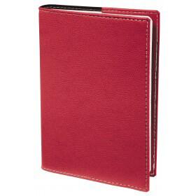 Agenda Club President - 1 semaine sur 2 pages - 21 x 27 cm - rouge - Quo Vadis